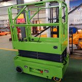 Small self-driving scissor lift platform