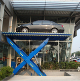 Heavy large hydraulic scissor car lift 3 ton