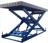 Customized stationary scissor lift platform