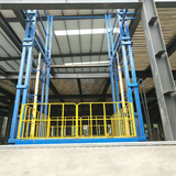Hydraulic cargo lift tables 5000mm 3tons