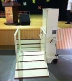 Mobile wheelchair lift platform