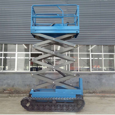 Crawler model self-propelled scissor lift paltform