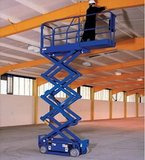 Self-driving mobile scissor lift platform 6 meters 350 kg