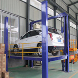 Guide rail hydraulic car lift platform 4500mm