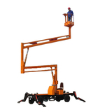 Diesel driving model articulated boom lift 250 kg