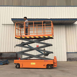 Self-driving scissor lift tables 2000mm 300kg