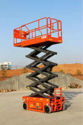 Self-driving hydraulic mobile scissor lift platform 8 meters capacity 350kg