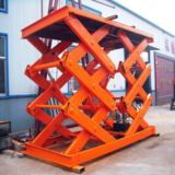 Fixed scissor lift platform 8ton